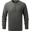 Craghoppers NosiLife Newark - Camiseta de manga larga Hombre - Long Sleeved negro